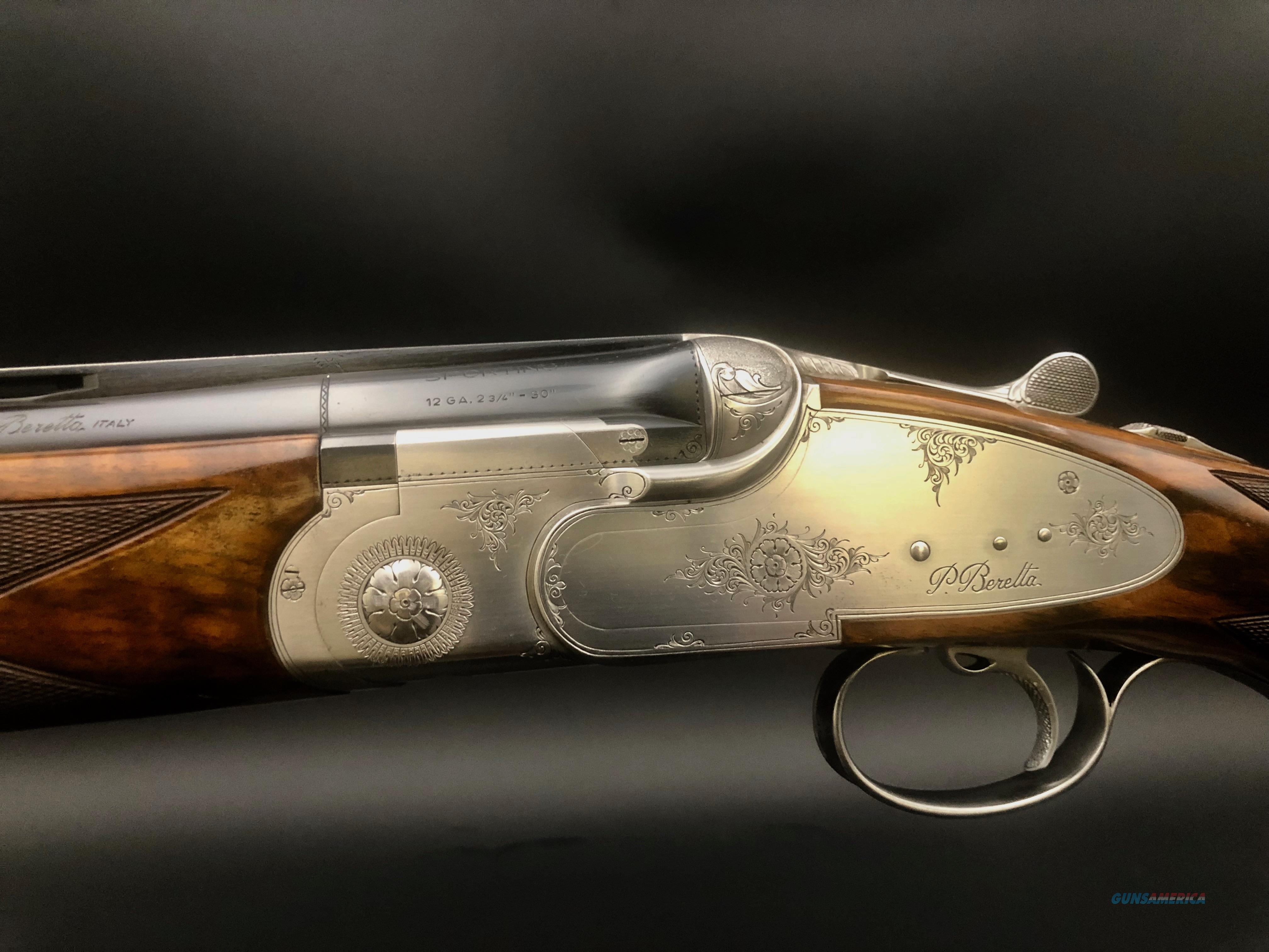 Beretta SO5 Sporting Gorgeous Wood  Guns > Shotguns > Beretta Shotguns > O/U > Trap/Skeet