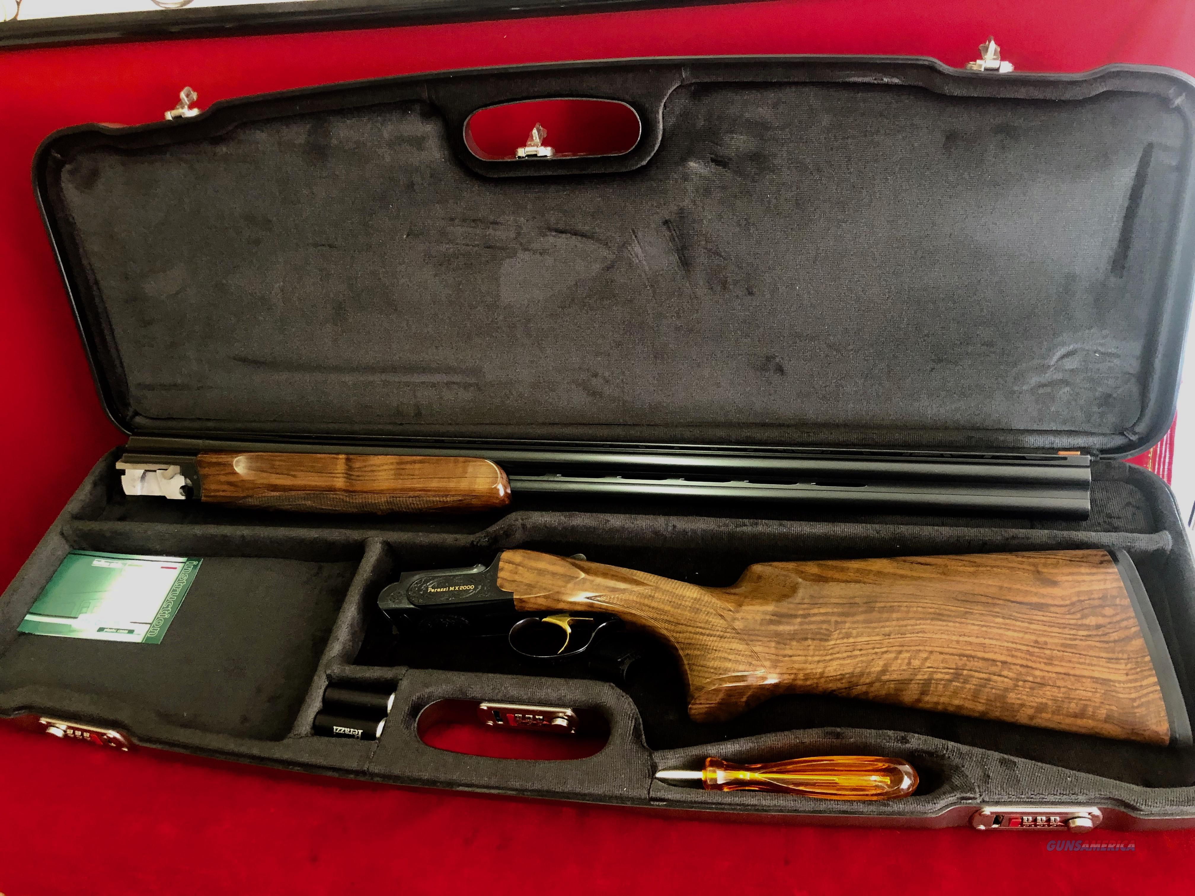 Perazzi MX2000/8 bunker, pigeon, ZZ  Guns > Shotguns > Perazzi Shotguns