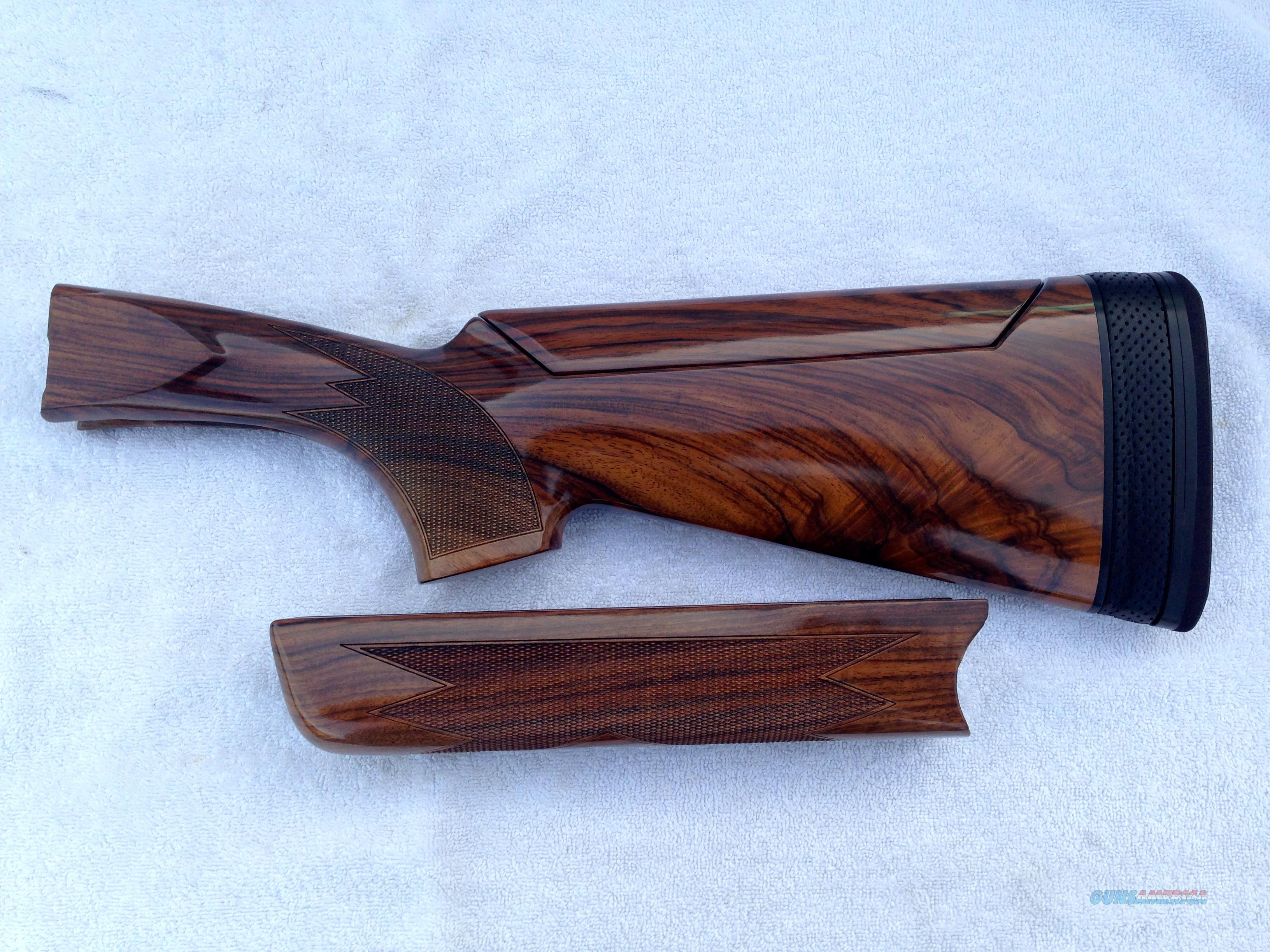 Krieghoff K80 Gold Bavaria Royale Stock Set  Non-Guns > Gunstocks, Grips & Wood