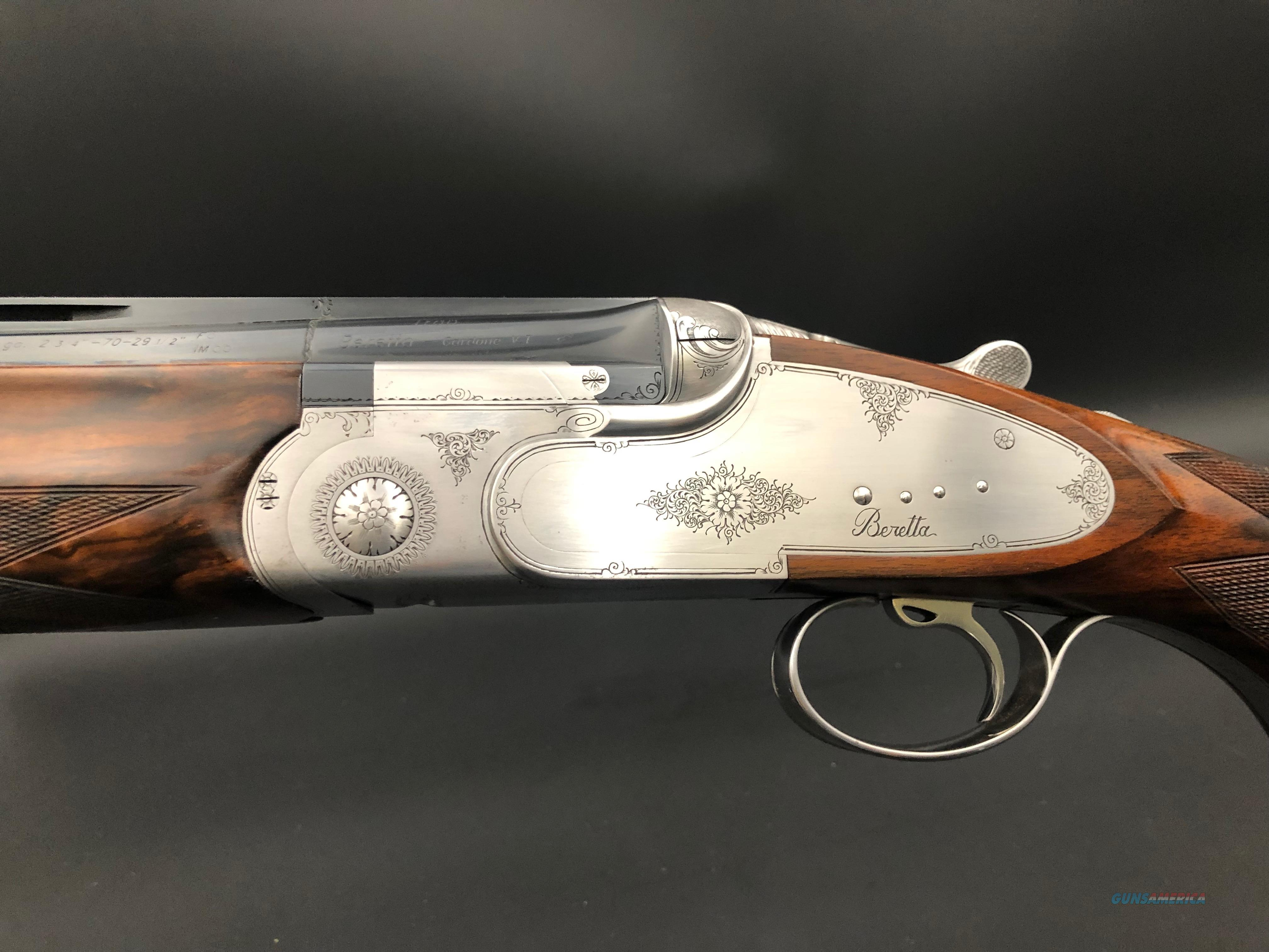 Beretta SO5 Trap  Guns > Shotguns > Beretta Shotguns > O/U > Trap/Skeet
