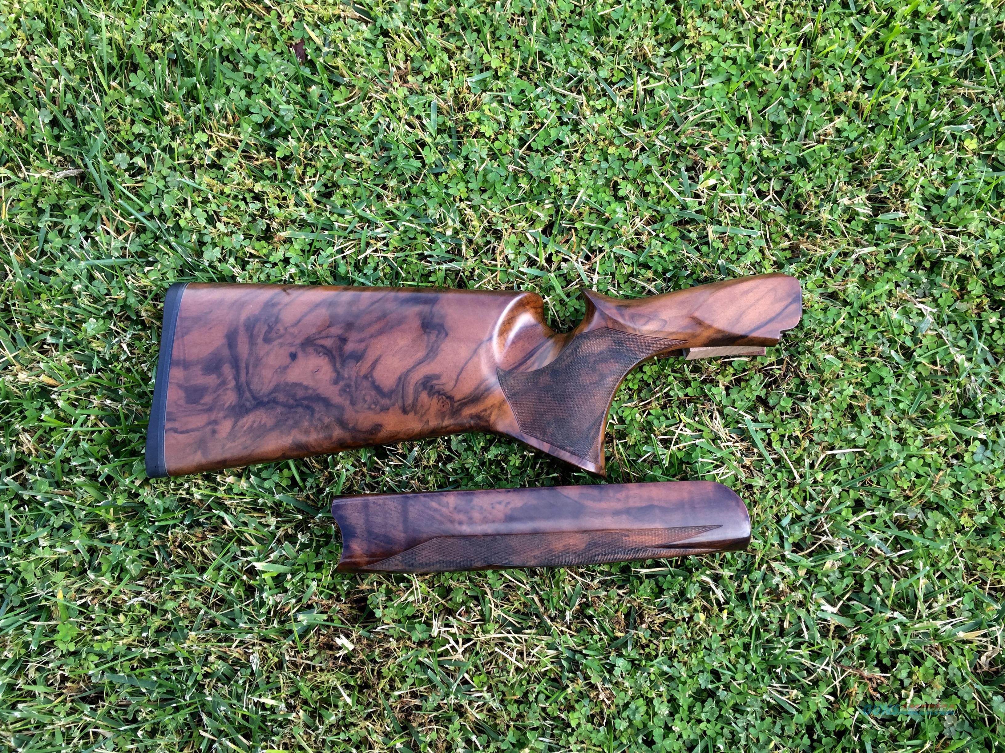 Perazzi Custom High Grade Stock Set Glove Grip  Guns > Shotguns > Perazzi Shotguns