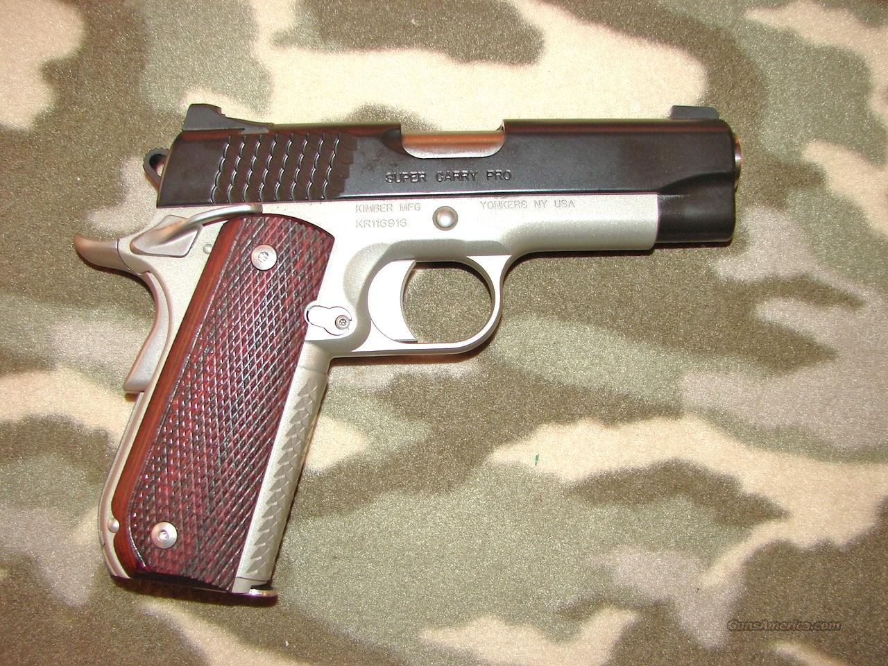 Kimber Super Carry Pro  Guns > Pistols > Kimber of America Pistols