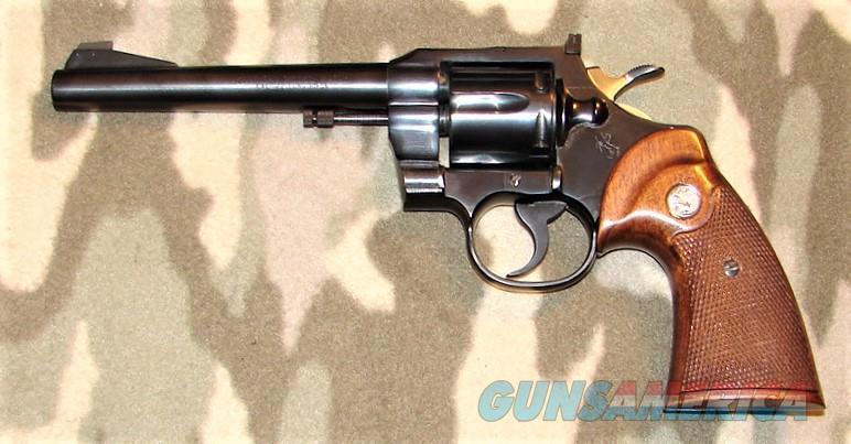 Colt Officers Model Match  Guns > Pistols > Colt Double Action Revolvers- Modern