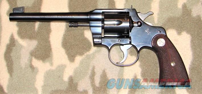 Colt Officer Mod Tgt 3rd Edition  Guns > Pistols > Colt Double Action Revolvers- Pre-1945