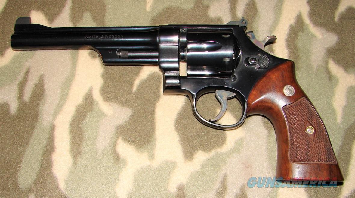 Smith & Wesson pre 24 1950 Model  Guns > Pistols > Smith & Wesson Revolvers > Full Frame Revolver
