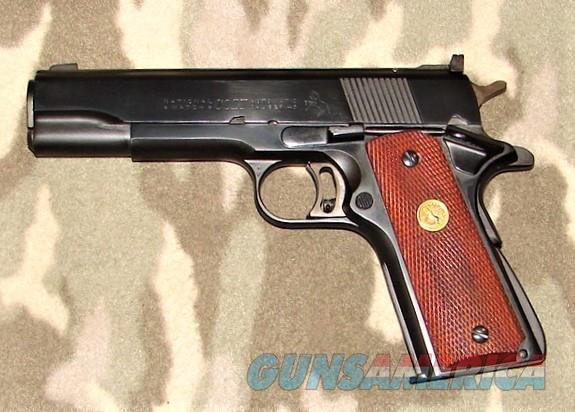 Colt National Match   Guns > Pistols > Colt Automatic Pistols (1911 & Var)