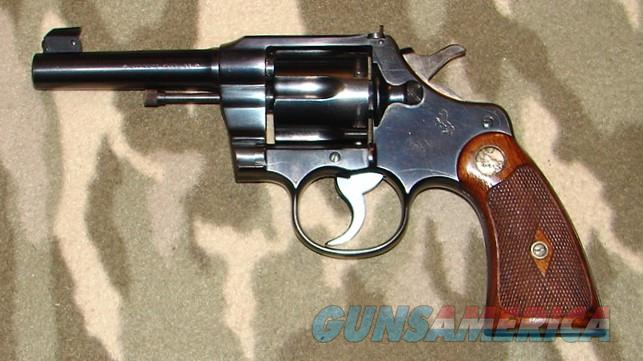 Colt Officers Model Revolver  Guns > Pistols > Colt Double Action Revolvers- Pre-1945