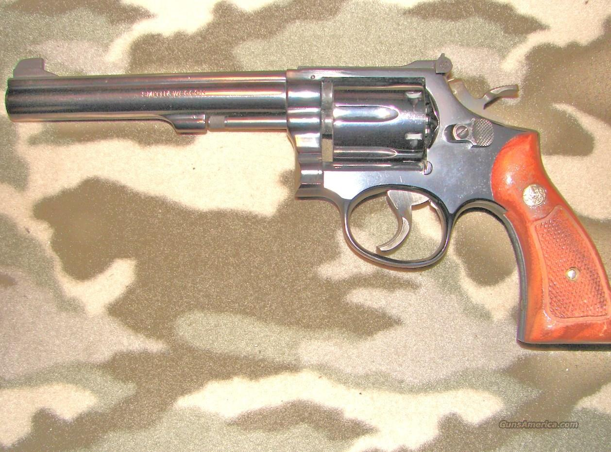 Smith & Wesson 14-3  Guns > Pistols > Smith & Wesson Revolvers > Med. Frame ( K/L )