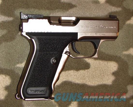 Heckler & Koch P7 M10   Guns > Pistols > Heckler & Koch Pistols > SteelFrame