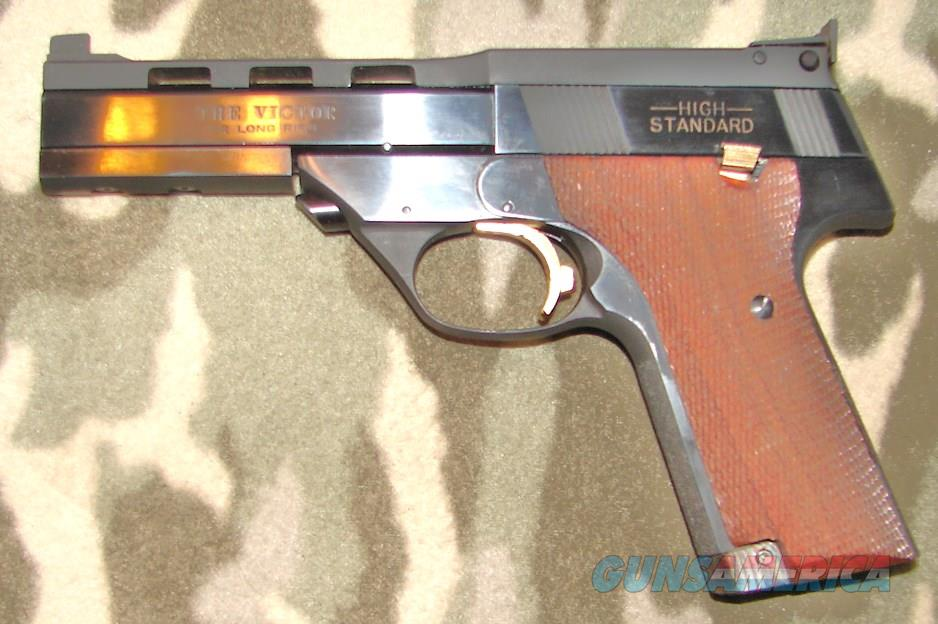 "High Standard ""The Victor"" LH  Guns > Pistols > High Standard Pistols"