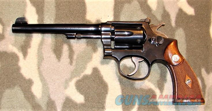 Smith & Wesson Pre-War K-22 Masterpiece  Guns > Pistols > Smith & Wesson Revolvers > Med. Frame ( K/L )