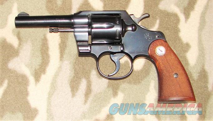 Colt Official Police .22 lr  Guns > Pistols > Colt Double Action Revolvers- Modern