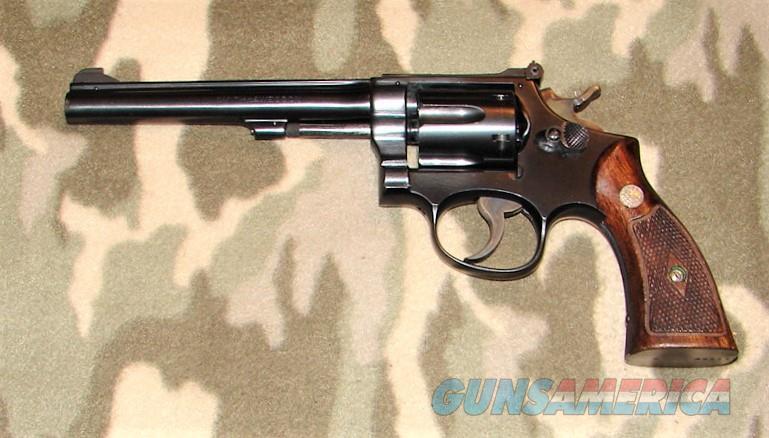Smith & Wesson K-22 Masterpiece  Guns > Pistols > Smith & Wesson Revolvers > Med. Frame ( K/L )