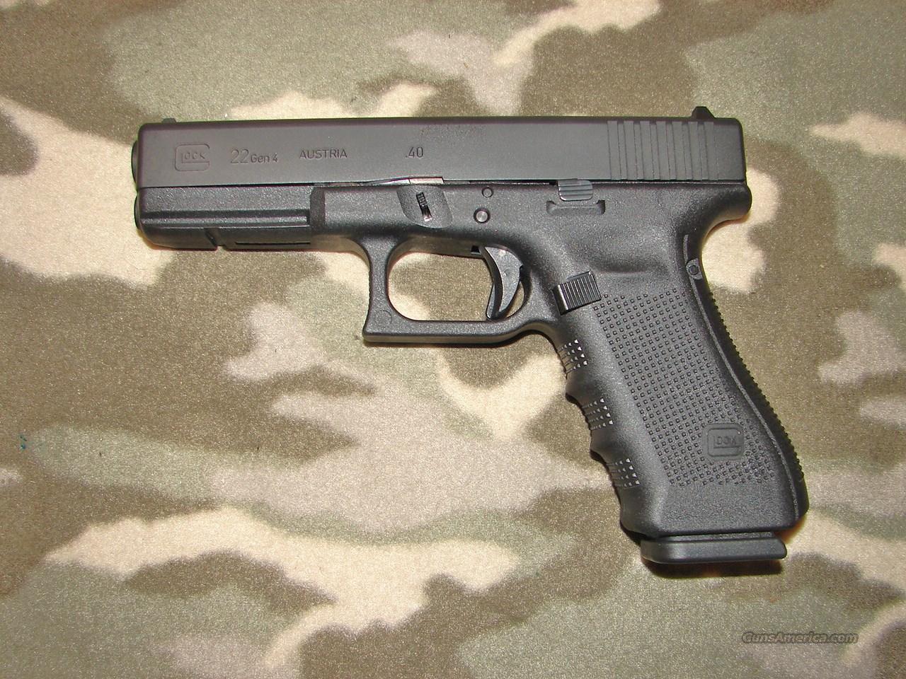 Glock Model 22 Gen 4  Guns > Pistols > Glock Pistols > 22