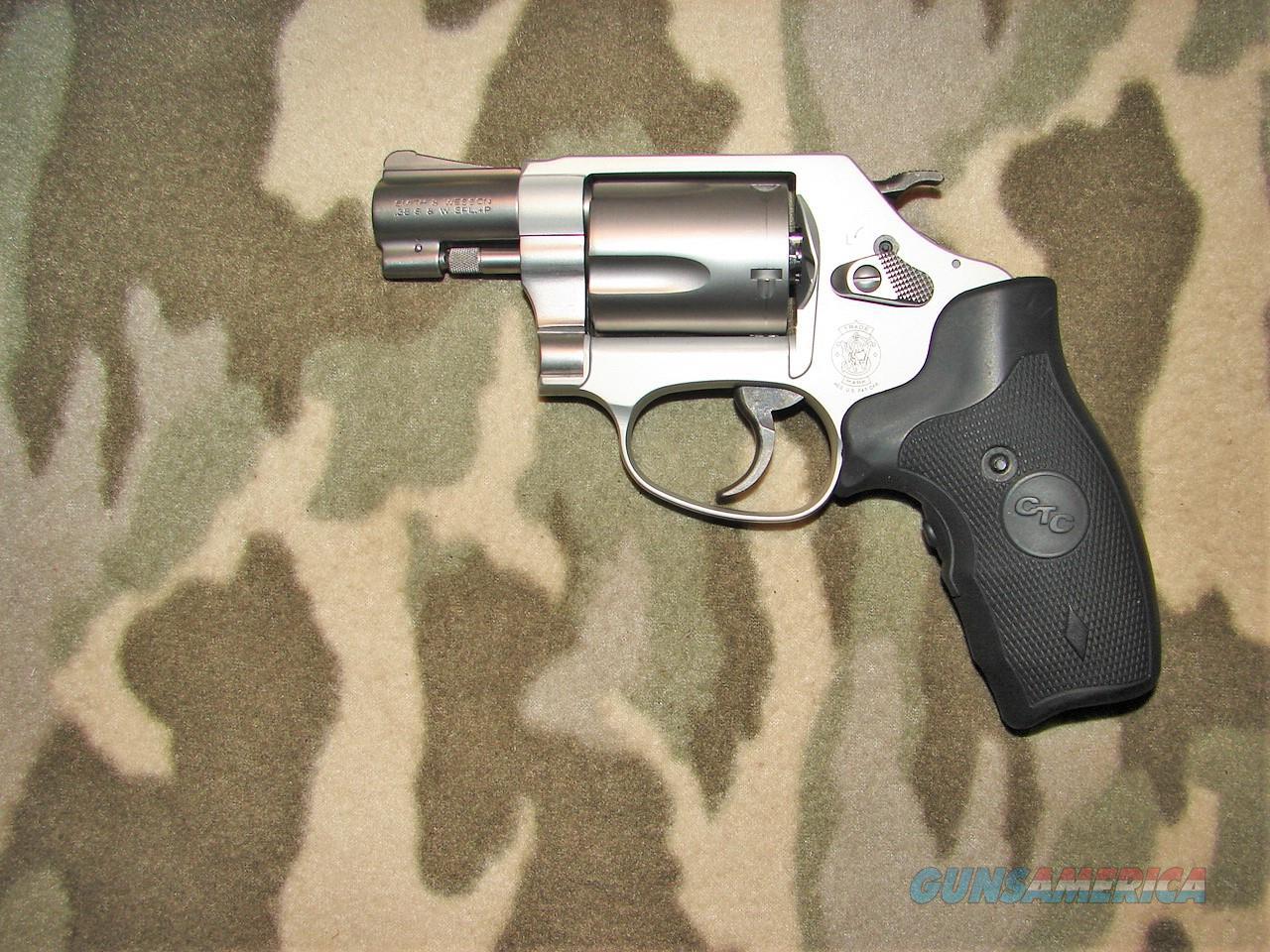 Smith & Wesson 637-2 Crimson Trace  Guns > Pistols > Smith & Wesson Revolvers > Small Frame ( J )