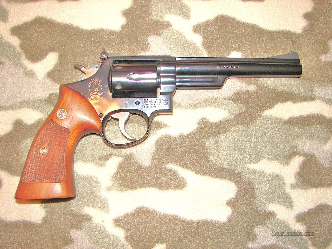 Smith & Wesson 53  Guns > Pistols > Smith & Wesson Revolvers > Med. Frame ( K/L )