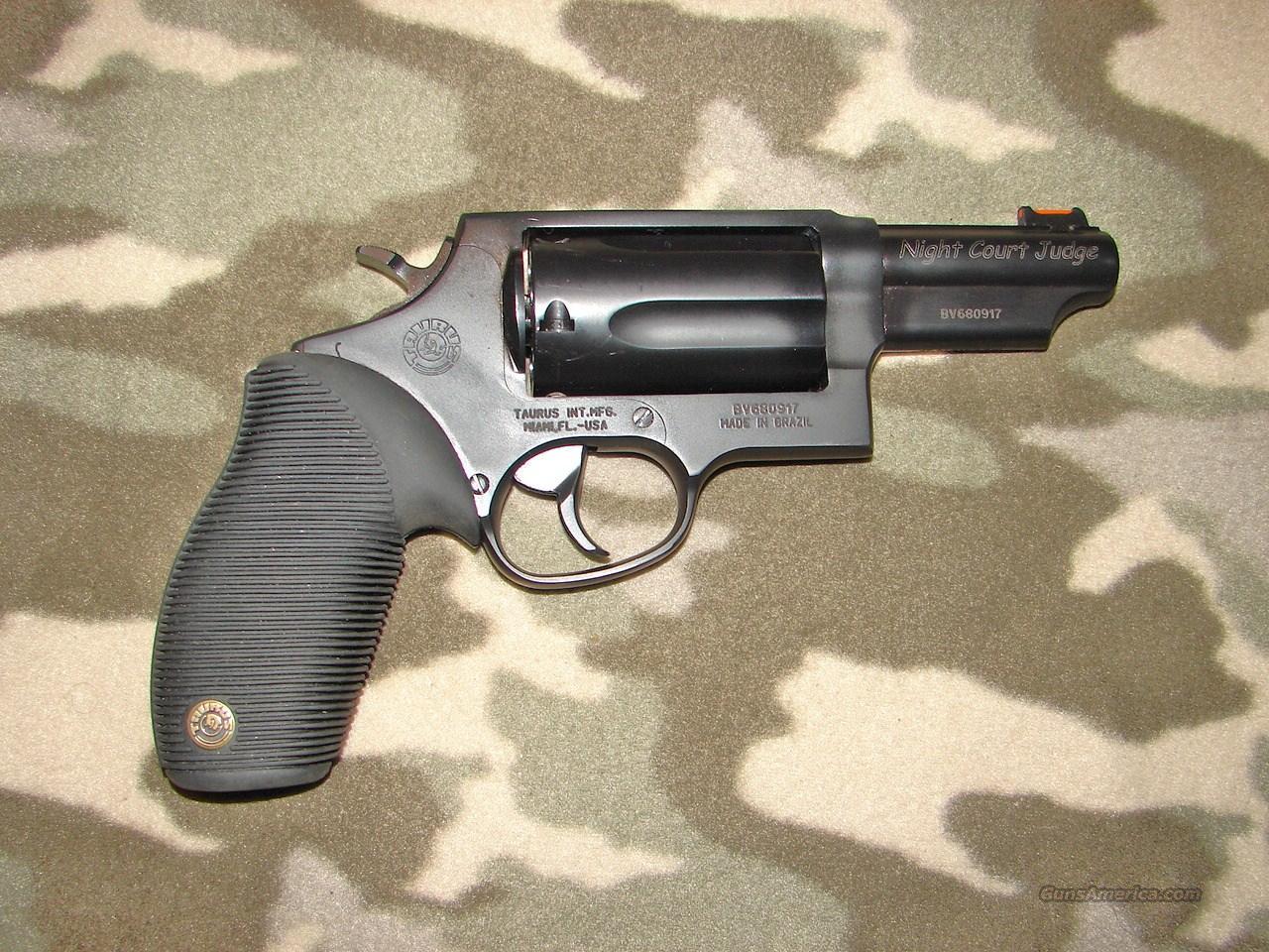 Taurus Model 4510 Night Court Judge  Guns > Pistols > Taurus Pistols > Revolvers