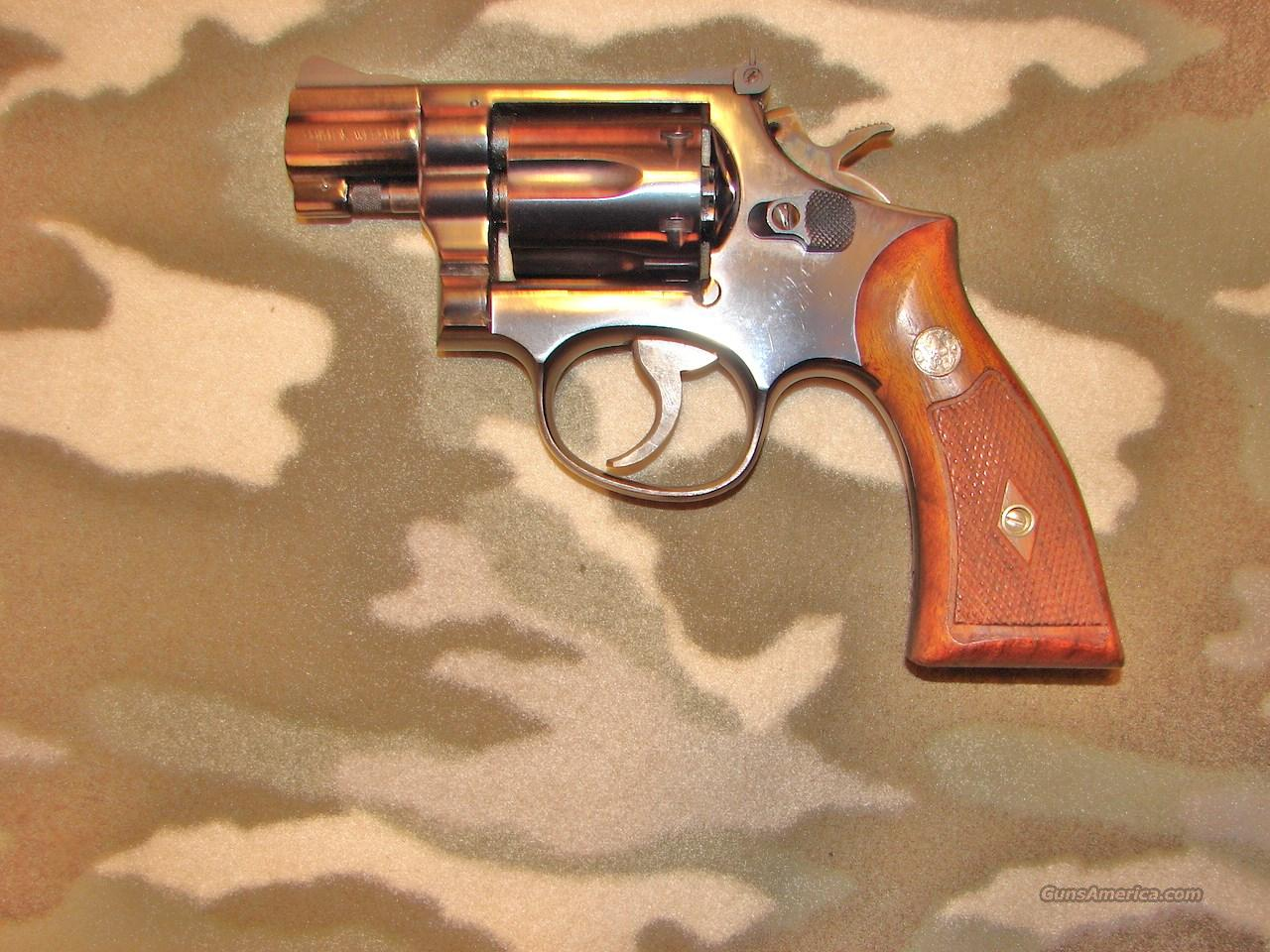 Smith & Wesson 56 U.S.  Guns > Pistols > Smith & Wesson Revolvers > Med. Frame ( K/L )