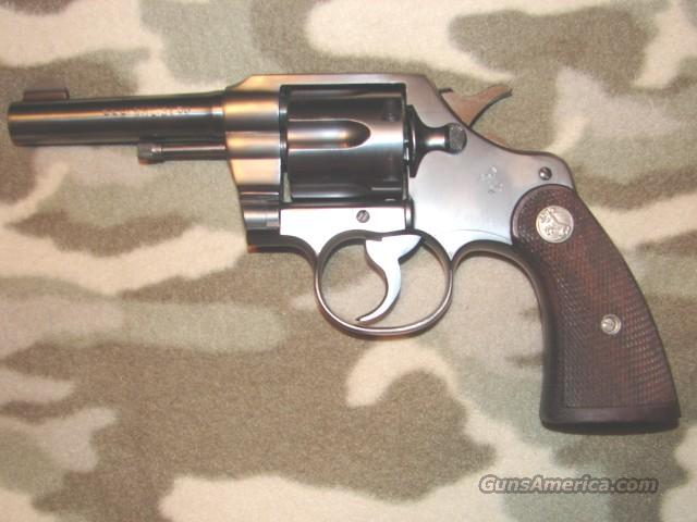 Colt Official Police  Guns > Pistols > Colt Double Action Revolvers- Pre-1945
