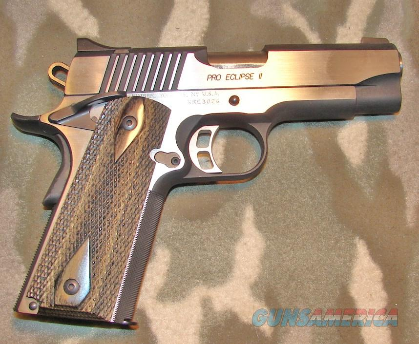 Kimber Custom Shop Pro Eclipse II  Guns > Pistols > Kimber of America Pistols