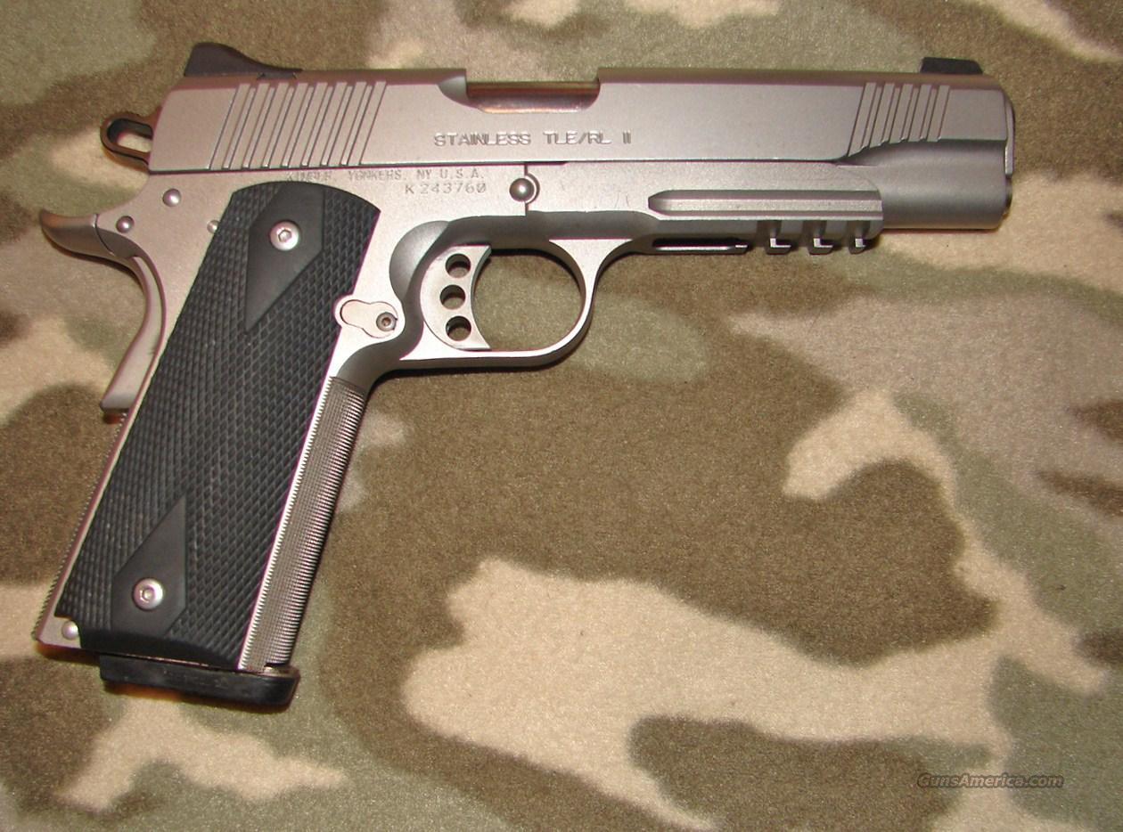 Kimber SS Tle/RL II  Guns > Pistols > Kimber of America Pistols