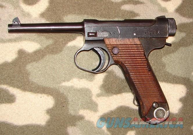 Japanese Nambu Type 14 1925  Guns > Pistols > Military Misc. Pistols Non-US