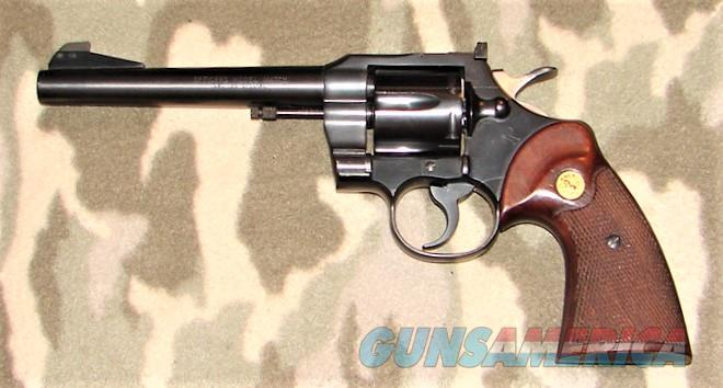 Colt Officer's Mod Mtch 4th Issue  Guns > Pistols > Colt Double Action Revolvers- Modern