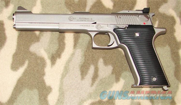 AMT Automag II   Guns > Pistols > AMT Pistols > Other