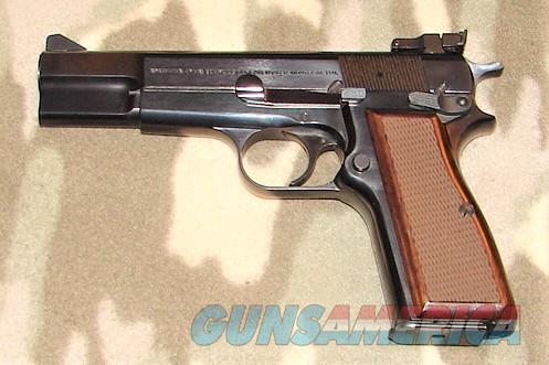 Browning Hi Power  Guns > Pistols > Browning Pistols > Hi Power