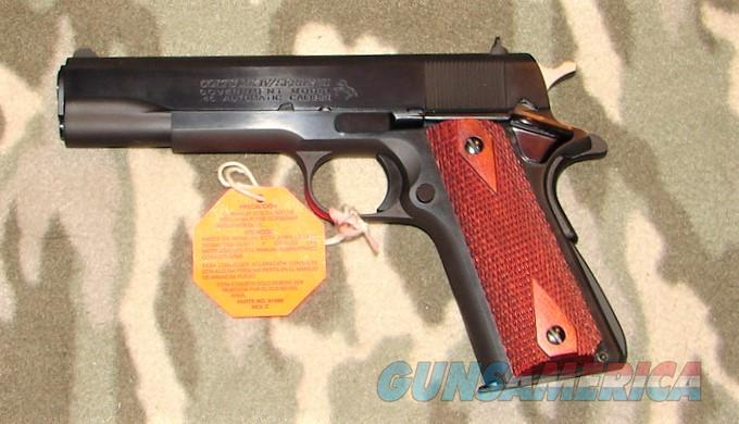 Colt Government Model  Pistol   Guns > Pistols > Colt Automatic Pistols (1911 & Var)