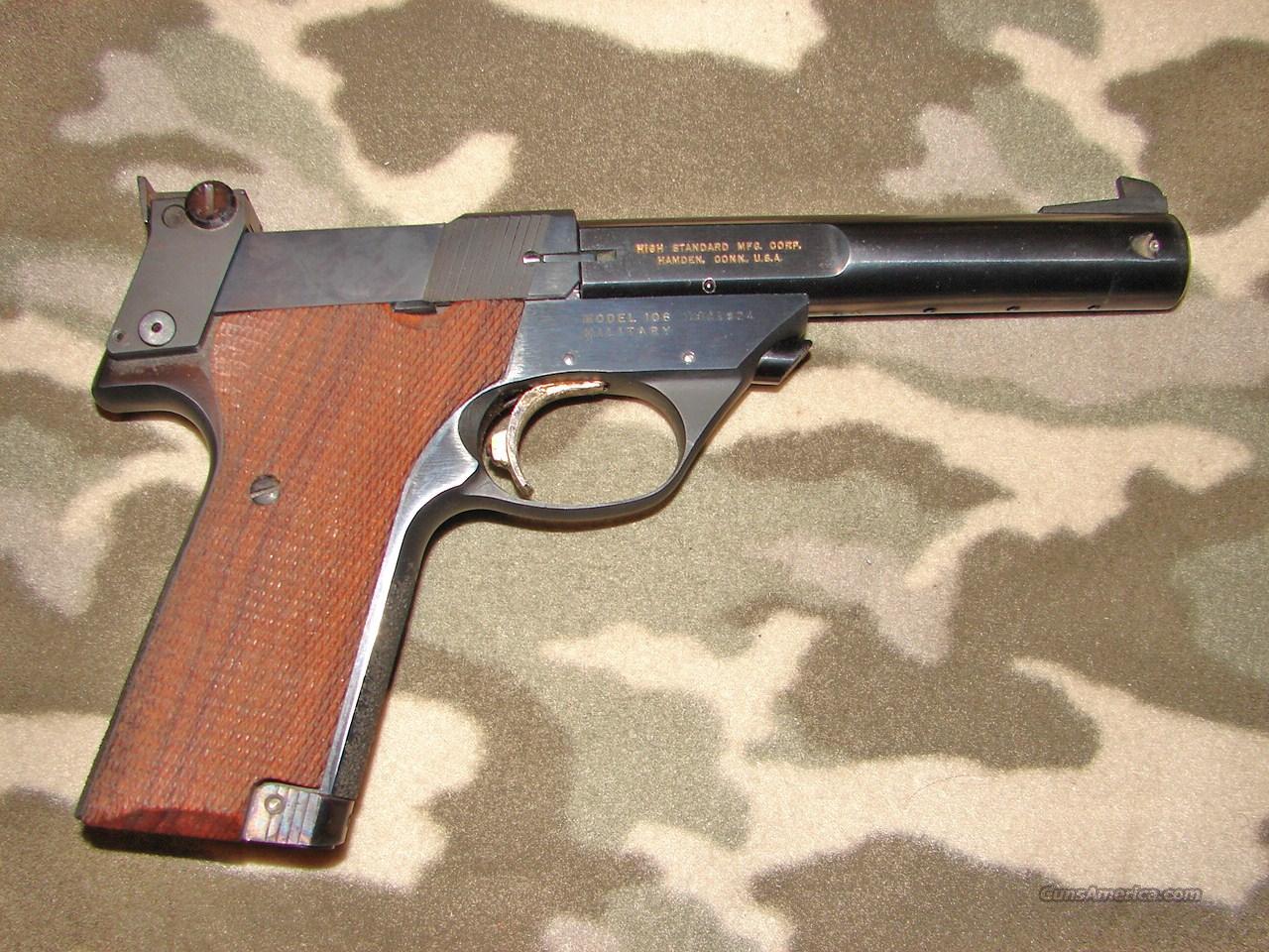High Standard Sup Tro   Guns > Pistols > High Standard Pistols