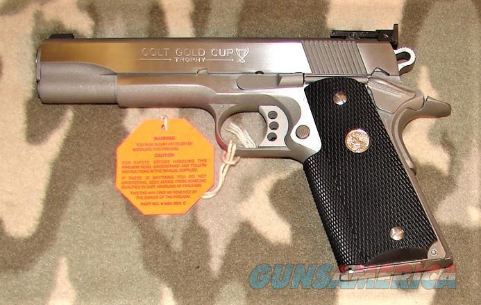 Colt Gold Cup Trophy  Guns > Pistols > Colt Automatic Pistols (1911 & Var)