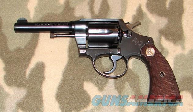 Colt Police Positive 32-20  Guns > Pistols > Colt Double Action Revolvers- Pre-1945