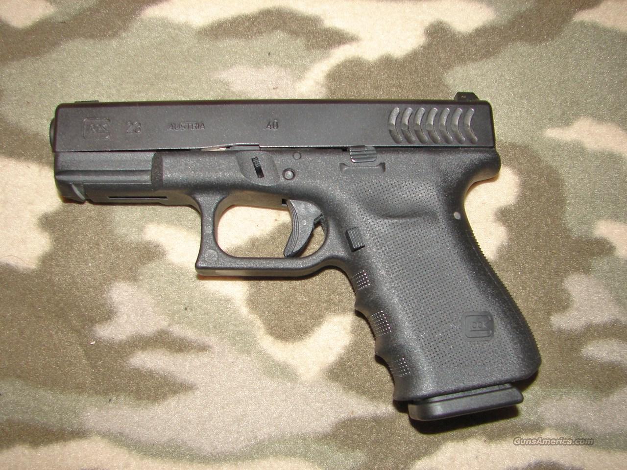 Glock Model 23 Gen   Guns > Pistols > Glock Pistols > 23