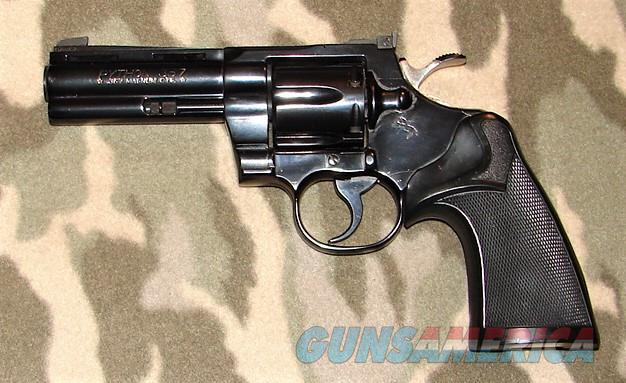 "Colt Python 4"" B  Guns > Pistols > Colt Double Action Revolvers- Modern"