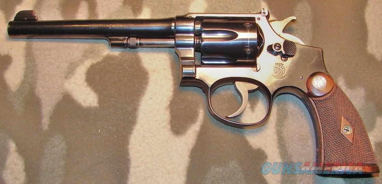 Smith & Wesson K-22 Outdoorsman  Guns > Pistols > Smith & Wesson Revolvers > Pre-1945