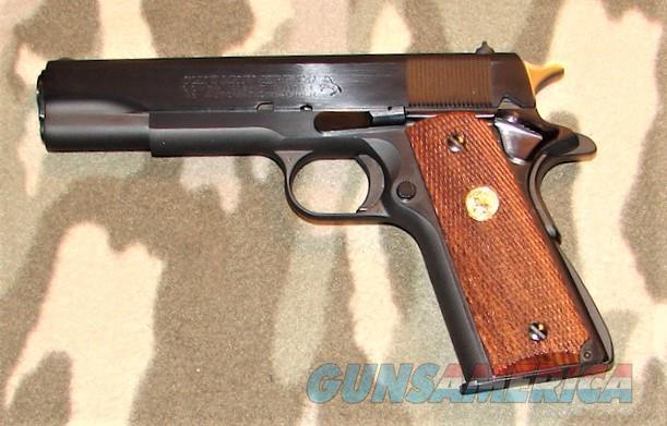 Colt GM Mk IV Ser 70  Guns > Pistols > Colt Automatic Pistols (1911 & Var)