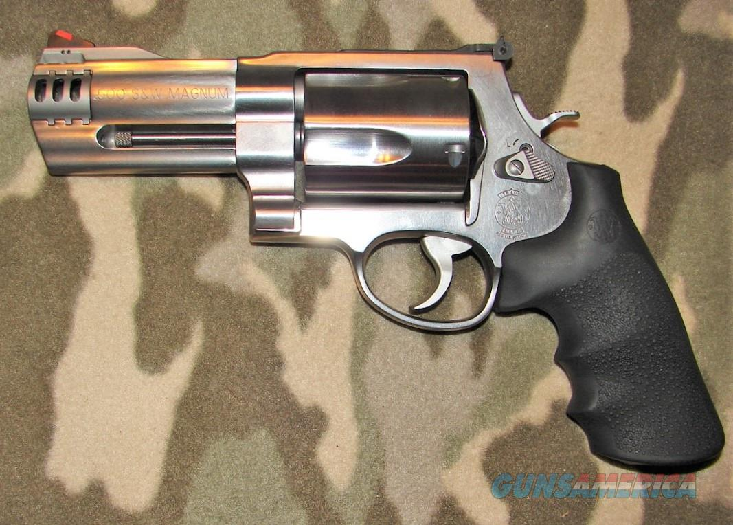Smith & Wesson 500  Guns > Pistols > Smith & Wesson Revolvers > Full Frame Revolver
