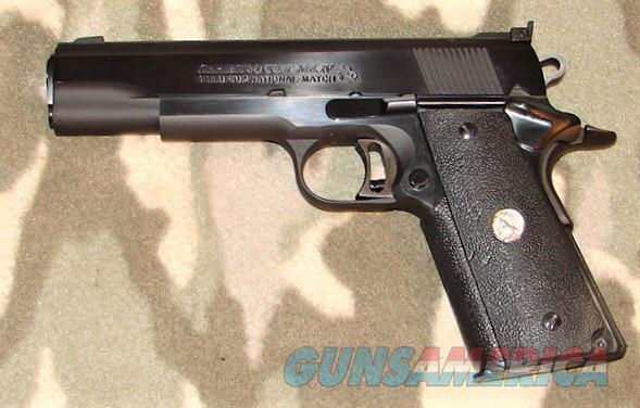 Colt GCNM 80 Mk IV  Guns > Pistols > Colt Automatic Pistols (1911 & Var)