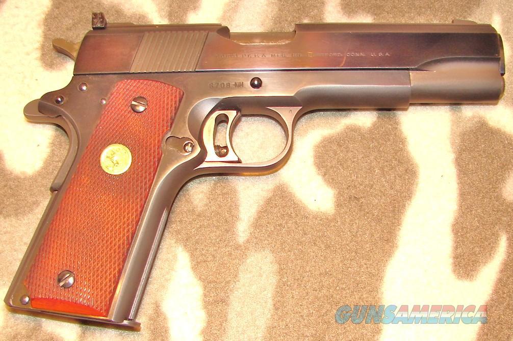 Colt NM Gov. Model  Guns > Pistols > Colt Automatic Pistols (1911 & Var)