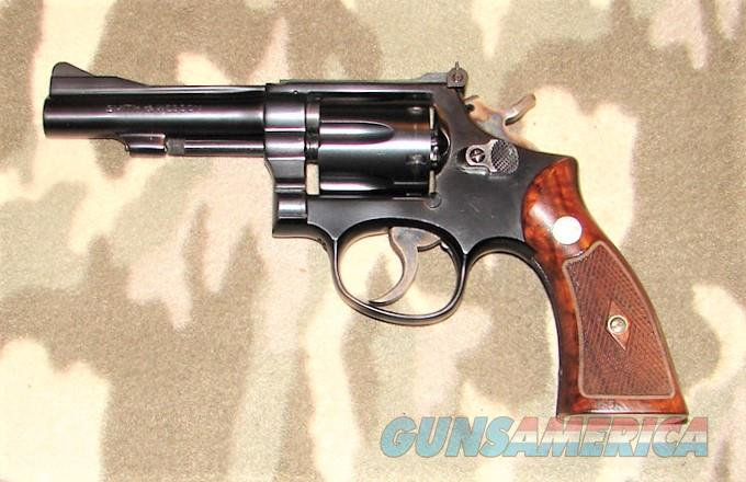 Smith & Wesson K-38 Combat Masterpiece  Guns > Pistols > Smith & Wesson Revolvers > Med. Frame ( K/L )