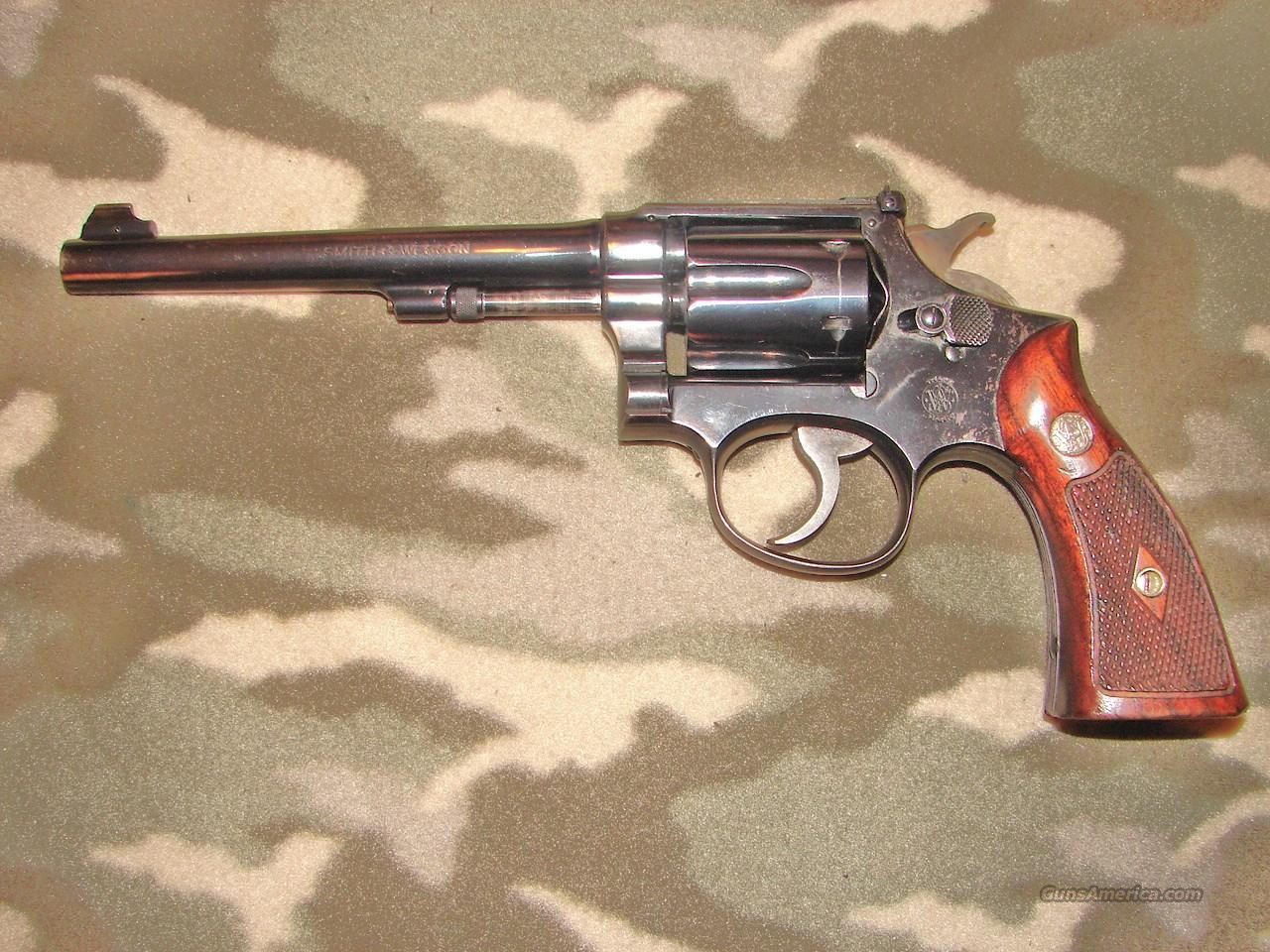 Smith & Wesson K22 Outdoorsman   Guns > Pistols > Smith & Wesson Revolvers > Med. Frame ( K/L )