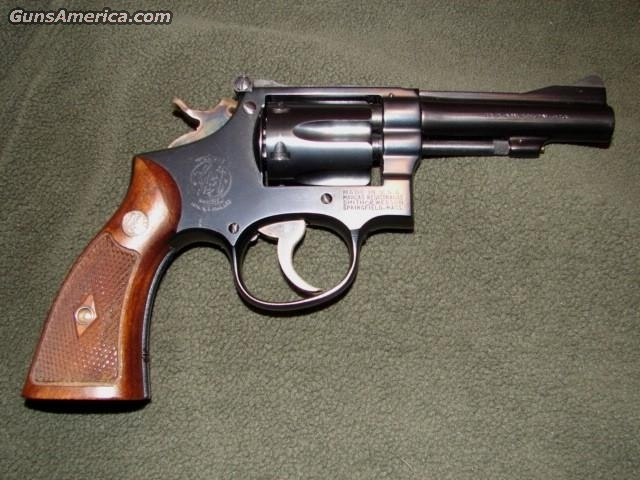 Combat Masterpiece .38  Guns > Pistols > Smith & Wesson Revolvers