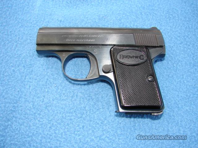 Browning Baby  Guns > Pistols > Browning Pistols > Baby Browning
