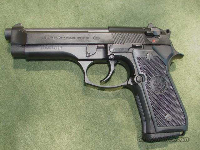 Beretta Model 92FS Semi-Auto Pistol   Guns > Pistols > Beretta Pistols > Model 92 Series