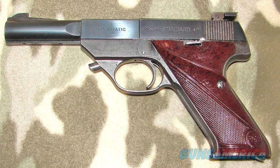 Hi Std. S101 Sup. 3rd Model  Guns > Pistols > High Standard Pistols