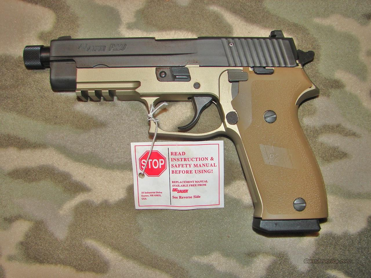Sig Sauer P220 Combat Tb   Guns > Pistols > Sig - Sauer/Sigarms Pistols > P226