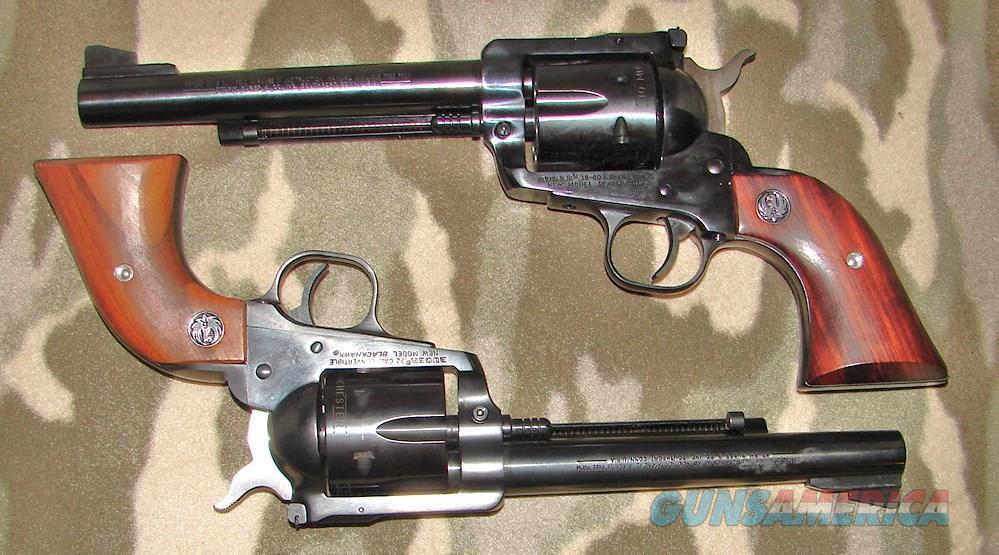 Ruger Buckeyes 32-20 38-40  Guns > Pistols > Ruger Single Action Revolvers > Blackhawk Type