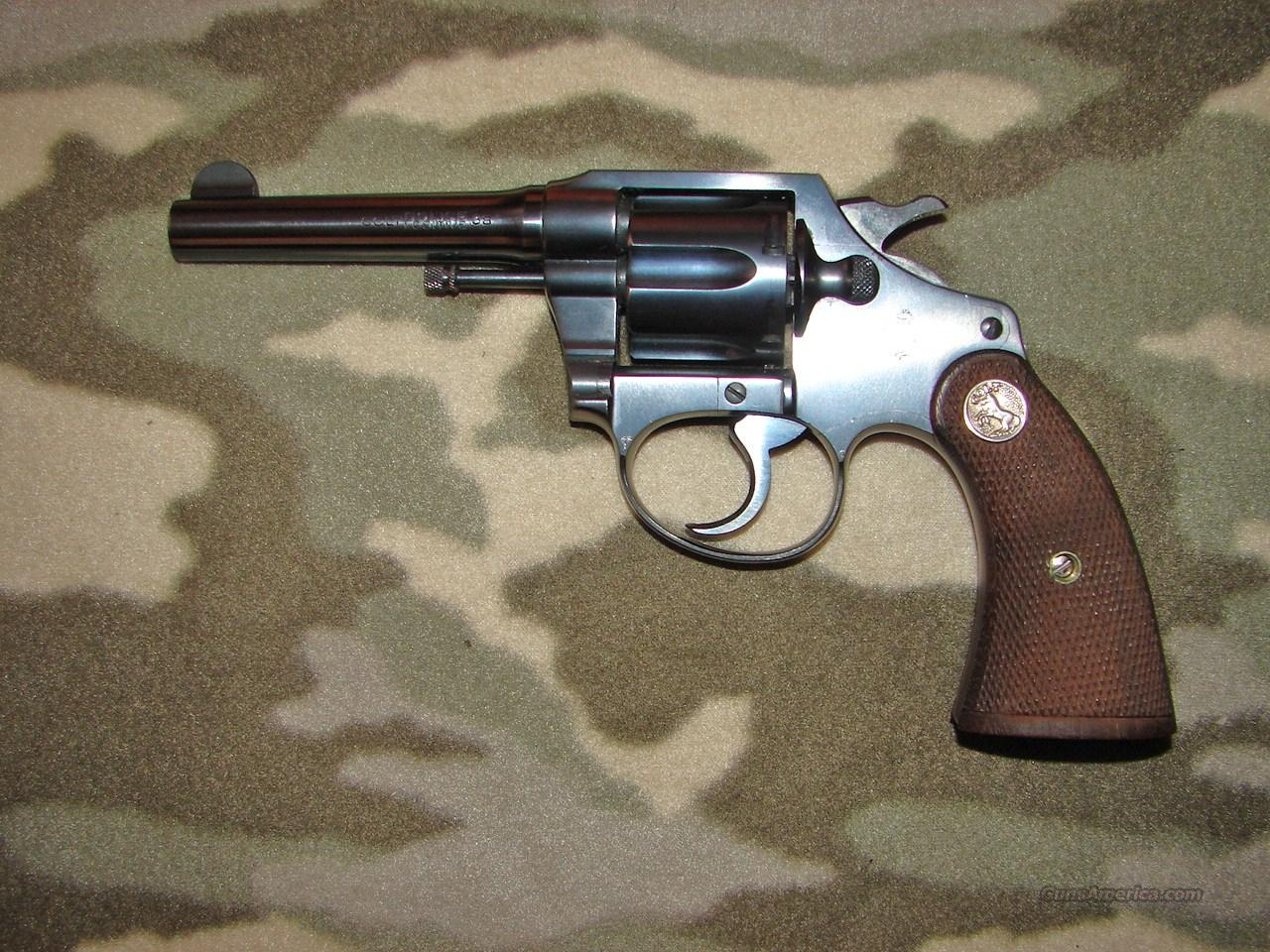 Colt Police Positive 2nd Issue   Guns > Pistols > Colt Double Action Revolvers- Pre-1945