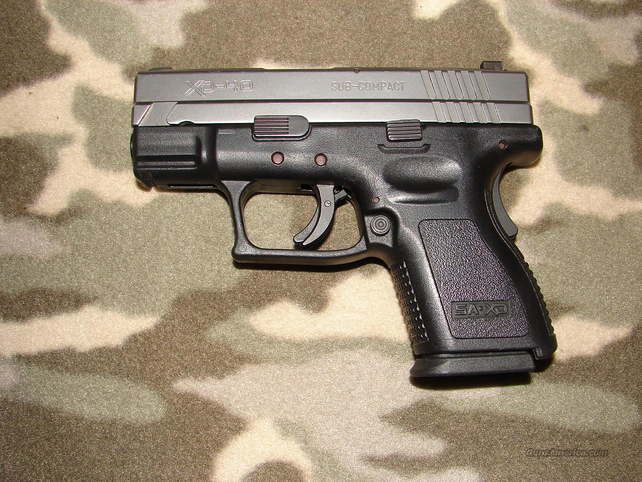 Springfield Armory XD Sub-Compact  Guns > Pistols > Springfield Armory Pistols > XD (eXtreme Duty)